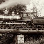 O Gordini e as locomotivas a vapor