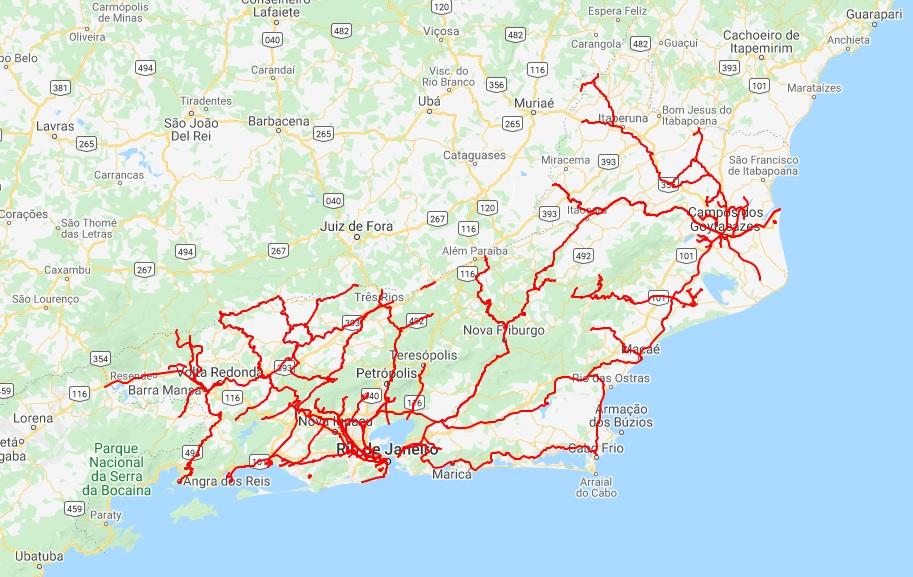 Mapa Geral RJ