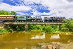 Trens Turísticos 1 – As locomotivas a vapor